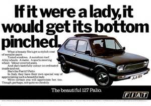 Fiat Sexist Commercial Details About Fiat 127 Palio Retro A3 Poster Print From