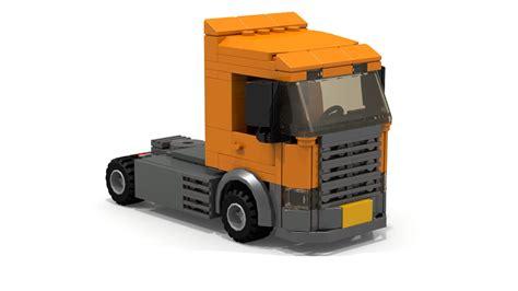 lego truck lego city scania truck 123vid