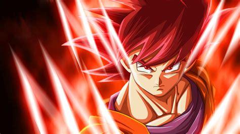dragon ball z wallpaper goku super saiyan god goku super saiyan god wallpapers goku super saiyan god