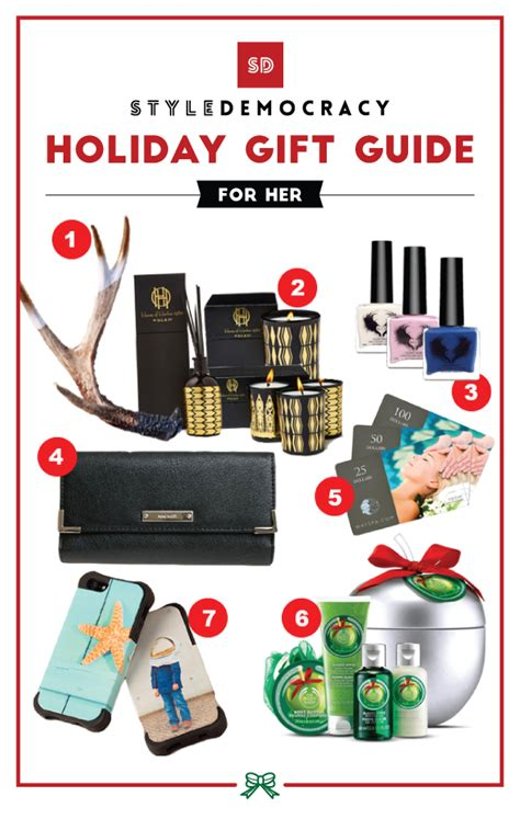 holiday gift guide gifts for her under 50