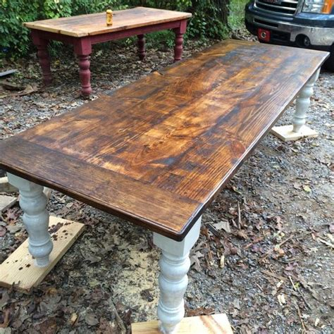 10 Rustic Farmhouse Table In By Wellsworksfurniture