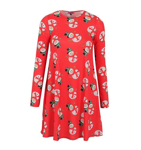womens ugly christmas fat snowman dress ugly christmas