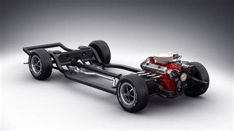 car chassis 3d model car chassis