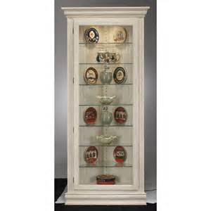 White Display Cabinet For Sale Colortime Prism Corner Curio Cabinet Finish Sand Shell