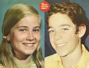 Maureen mccormick with barry barry williams and maureen mccormick