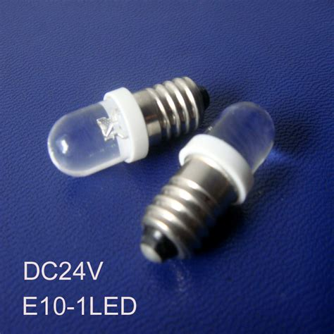 led pilot light 24v high quality e10 24vdc led lights 24v e10 led pilot l