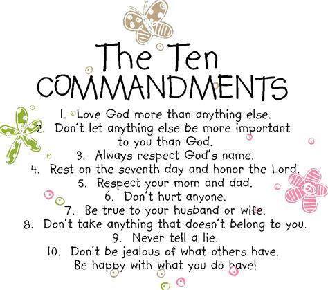 10 Commandments For A Lifelong Friendship by Ten Commandments Quotes Quotesgram