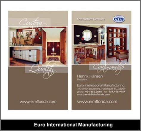 kitchen cabinet advertisement custom cabinetry business card design business card