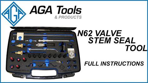bmw valve stem seals n62 n62 tu valve stem seal tool kit