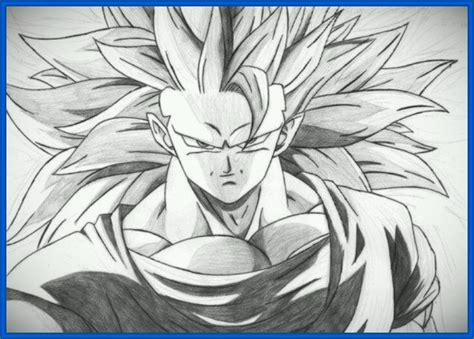imagenes de goku grandes dibujos de dragon ball z goku ssj4 archivos dibujos de