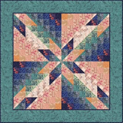 Hunters Quilt Block by Myquiltgenie Hunters Watercolor Quilt