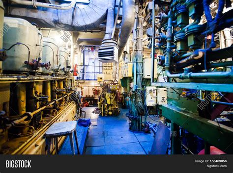 small boat engine room engine room on a cargo boat ship interior ship s engine