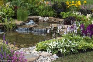 a pretty water feature adds a refreshing touch to any garden says nigel colborn daily mail online