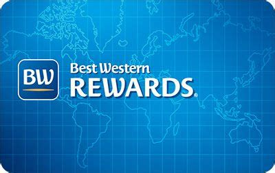 best western card best western rewards blue card level