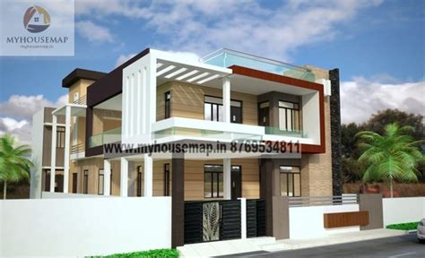 front elevations of indian economy houses villa front elevation design front elevation design