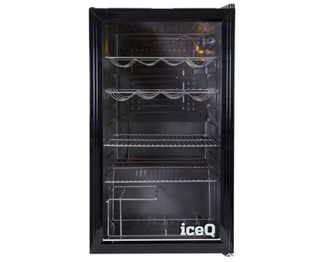 Counter Fridge Glass Door by Iceq 93 Litre Counter Glass Door Display Fridge