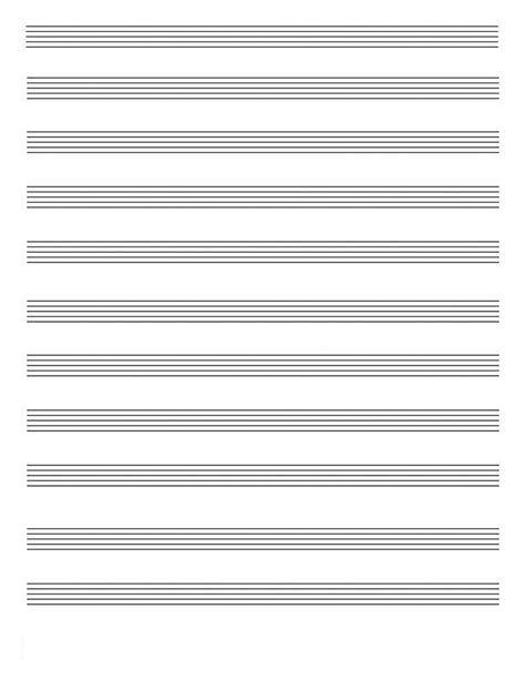 10 per page blank music staff paper pdf 6 10 12 stave sheet music