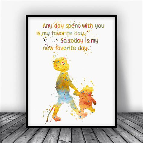 printable christopher robin quotes winnie the pooh quote picture frame choice image craft