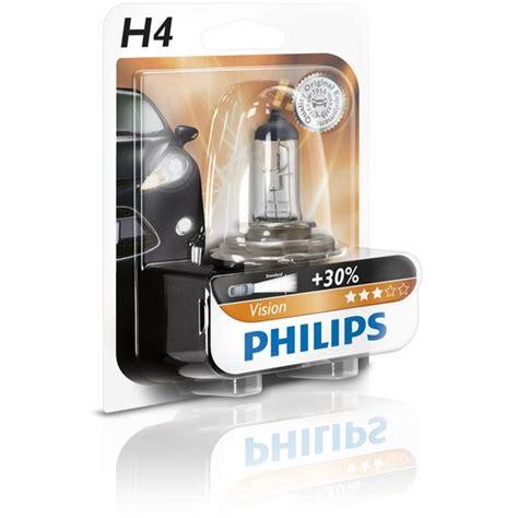 Lu Philips Blue Vision H4 oule philips vision h4 feu vert
