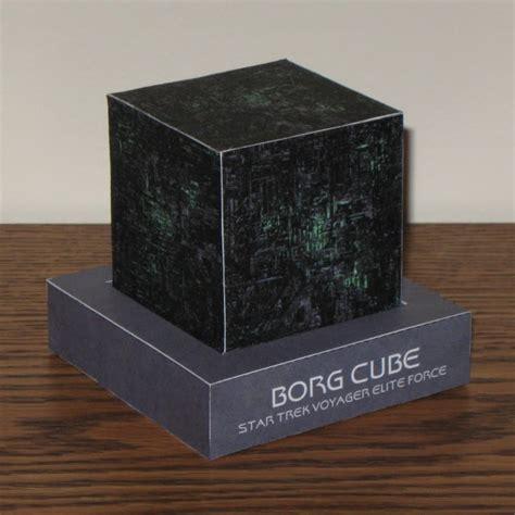 Tektonten Papercraft - borgcube600x600 jpg