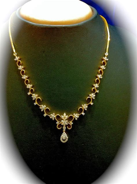 south hill design necklaces simple diamond necklace jewellery designs