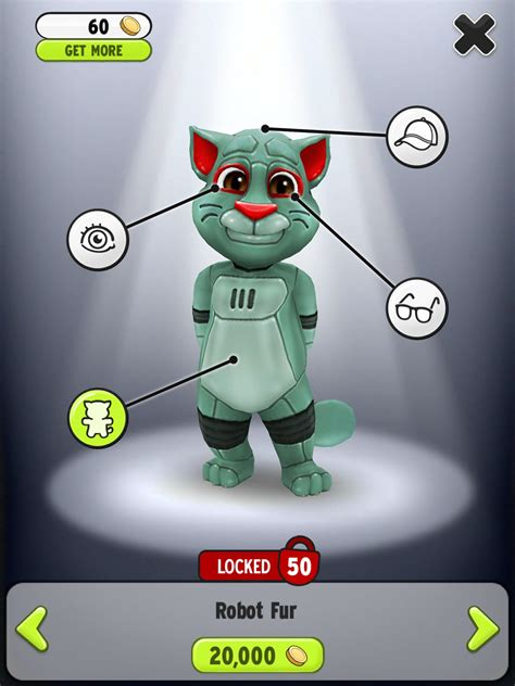 Talking Tom Robot robot fur my talking tom wiki