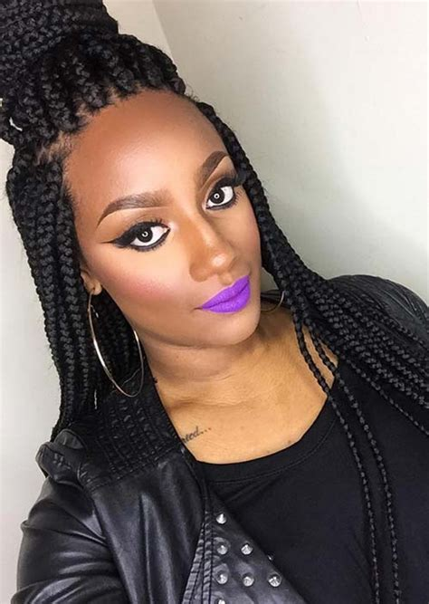 cute hairstyles for jumbo box braids 35 awesome box braids hairstyles you simply must try