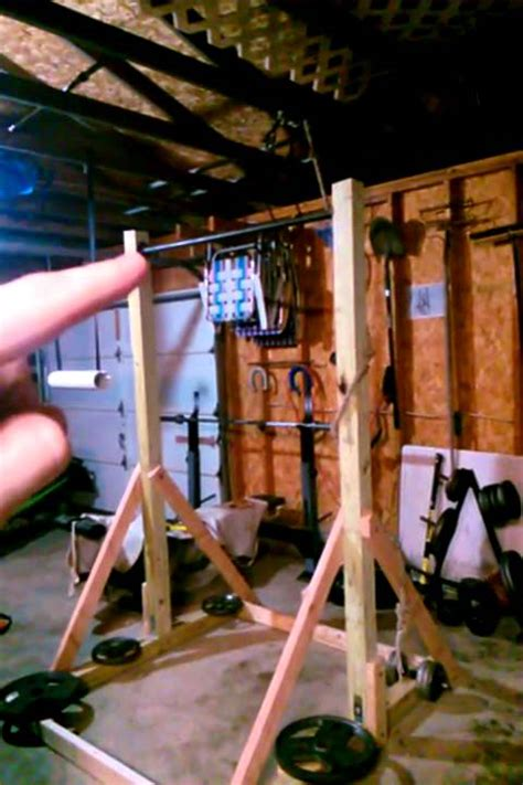diy pull  station freestanding pull  bar youtube