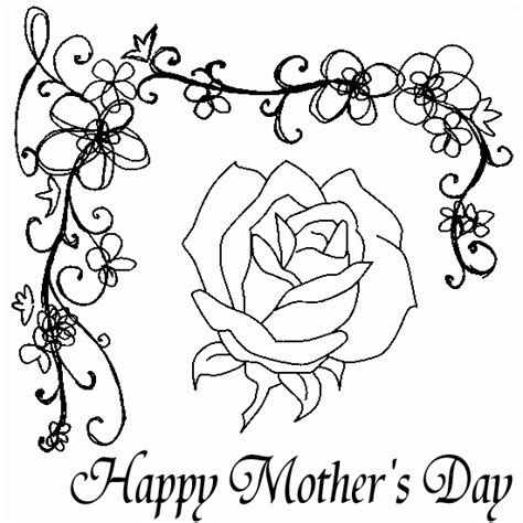 mothers day coloring pictures happy mothers day coloring pages coloring picutres