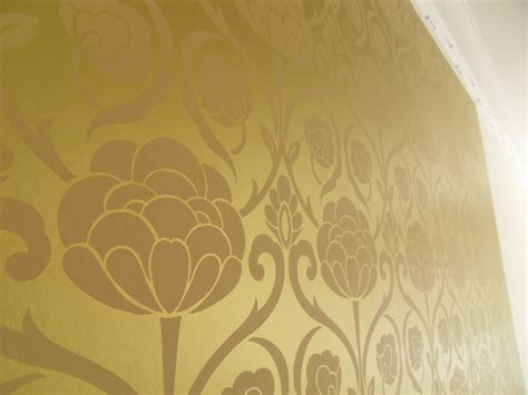 gold wallpaper metallic uk hanging metallic gold wallpaper colour republic