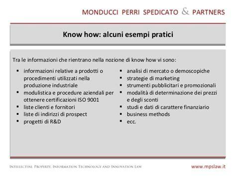 procedure interne aziendali la tutela how aziendale strumenti contrattuali e