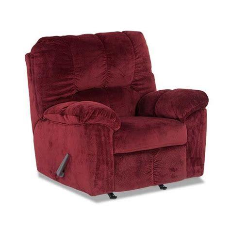 burgundy rocker recliner l2 266rr furniture afw