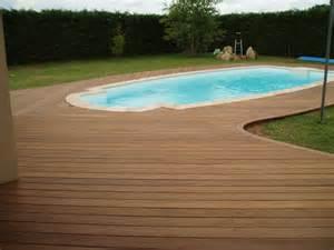 terrasse de piscine en bois quel budget pr 233 voir et
