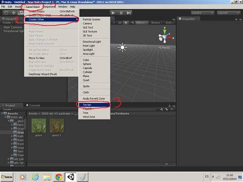 unity tutorial material tutorial como poner un material en un terreno unity 3d