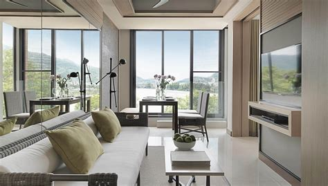 Facing Living Room by One Bedroom Suite Facing Amari Phuket