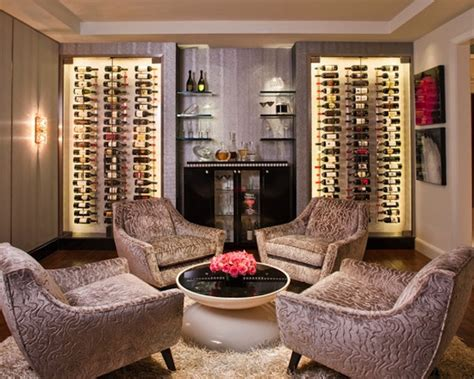 Home Wine Tasting Room Design Wine Cellar Custom Design Home Ideas