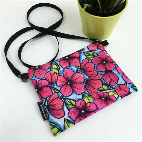 Doodle Slingbag bunga raya sling bag by liza hipeni on creative united