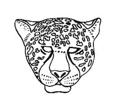 cheetah mask template monday 26 zoo clean