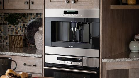 Wolf Built In Coffee Maker System   Boston Appliance   Woburn, MA