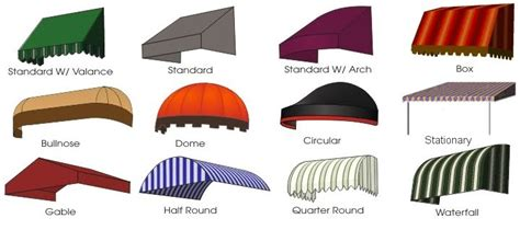 types of awnings sunshine awnings miami patio canopies carport gazebo