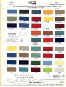 1970 chevrolet truck paint codes search vintage