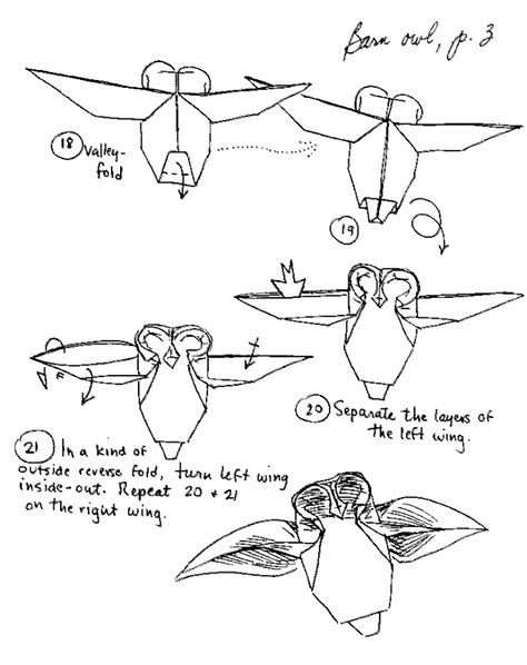 Origami Owl Diagram - origami learn how to make themed origami