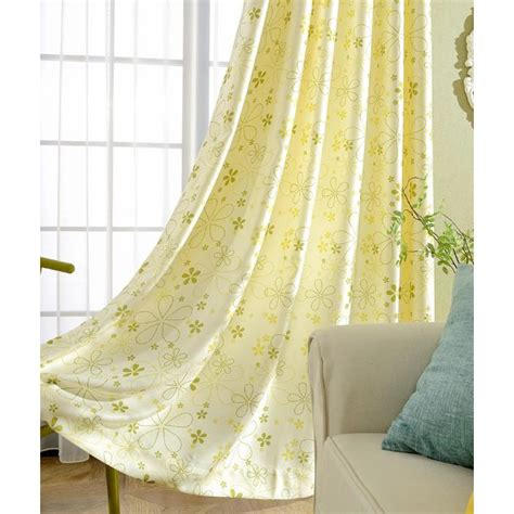 Yellow Blackout Curtains Nursery Yellow Nursery Curtains Thenurseries