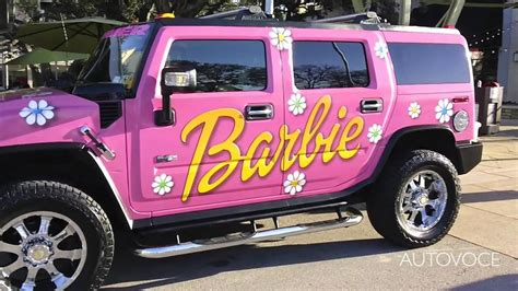 real barbie cars real barbie hummer youtube