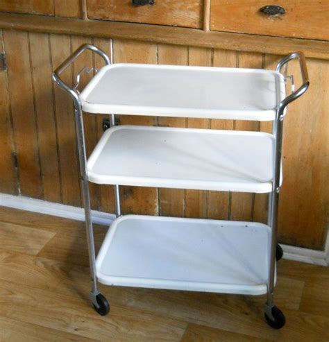 Metal Kitchen Cart Vintage