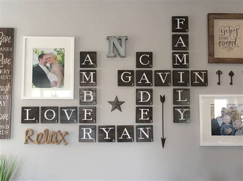 scrabble home decor 3 5 scrabble wall decor home decoration wall art scrabble