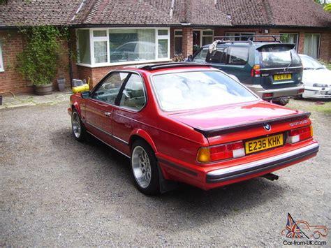 1988 bmw 635csi 1988 bmw 635 csi auto red