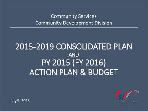 Ecps 7 Step Plan Of community development consolidated plan plan budget