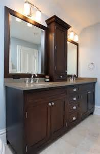 Vanity Countertop Cabinet Fabulous Traditional Bathroom Interior Design With