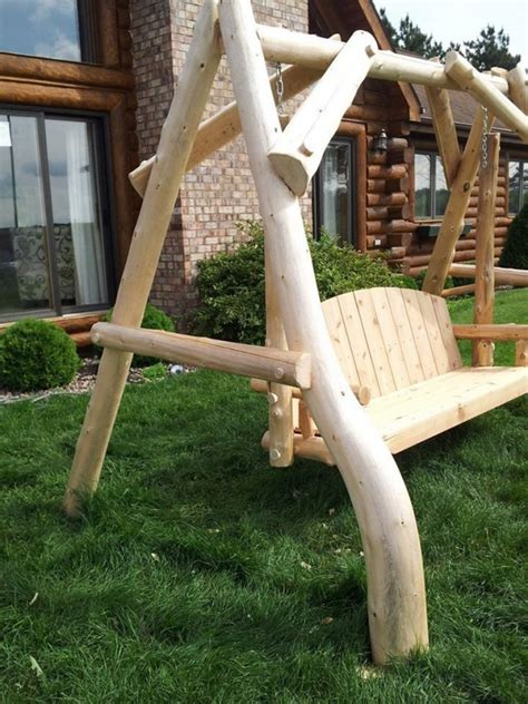 swing life style log in outdoor log swing outdoor log swing swing